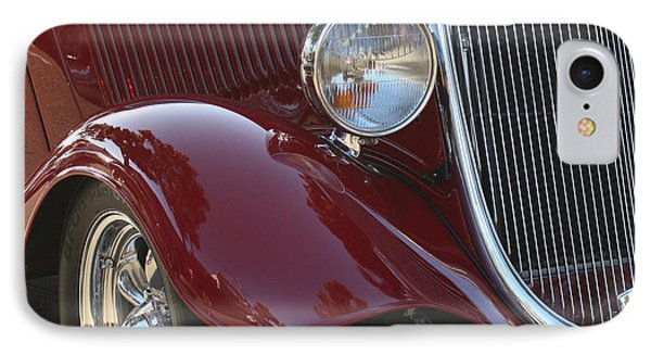 Classic Ford Car Phone Case by Tap On Photo