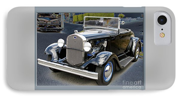 IPhone Case featuring the photograph Classic Ford by Victoria Harrington