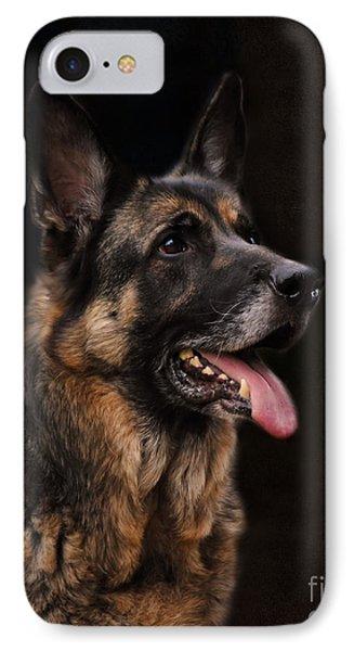 Classic German Shepherd Phone Case by Jai Johnson