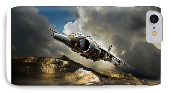 Classic Harrier IPhone Case by Peter Van Stigt