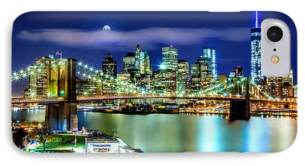 Classic New York Skyline IPhone Case by Az Jackson