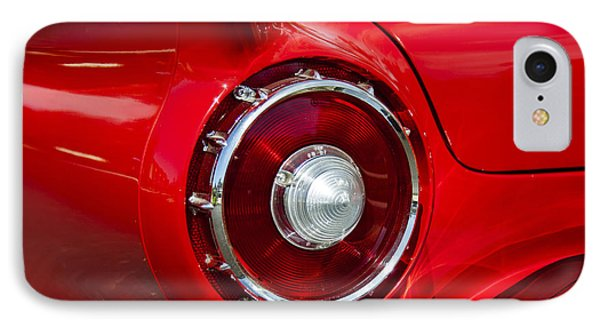 IPhone Case featuring the photograph 1957 Ford Thunderbird Classic Car  by Jerry Cowart