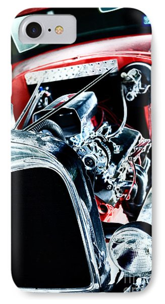 IPhone Case featuring the digital art Classic Red by Erika Weber