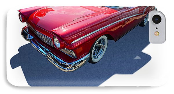 Classic Red Truck IPhone Case by Gianfranco Weiss