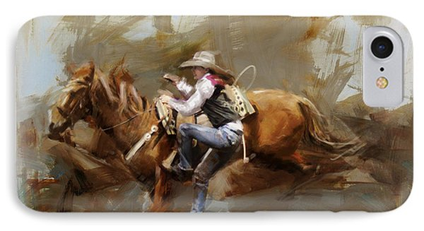 Classic Rodeo 5 IPhone Case by Maryam Mughal