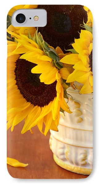Classic Sunflowers Phone Case by Art Block Collections
