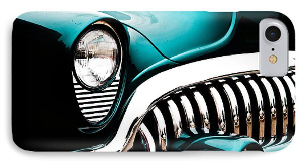 Classic Turquoise Buick IPhone Case by Joann Copeland-Paul