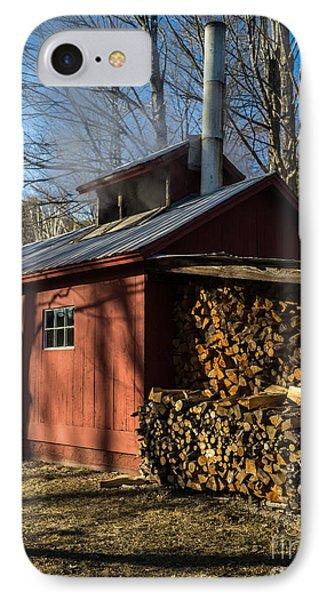 Classic Vermont Maple Sugar Shack IPhone Case