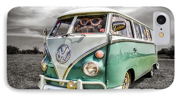 Classic Vw Campavan IPhone Case