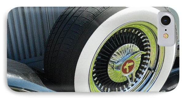 IPhone Case featuring the photograph Classic Wheel by Val Miller