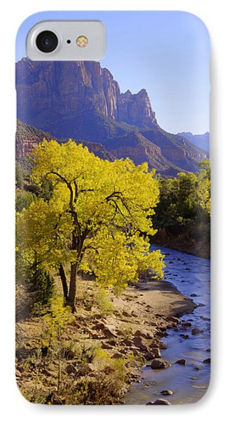 Classic Zion IPhone Case by Chad Dutson