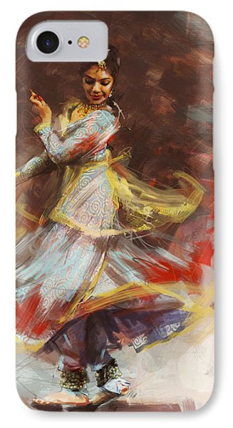 Classical Dance Art 8 IPhone Case by Maryam Mughal