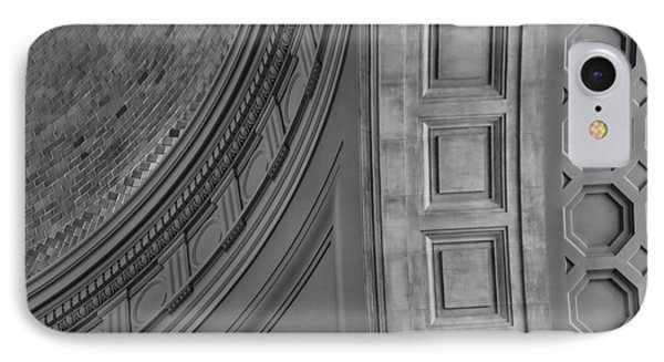 Classical Dome And Vault Detail Phone Case by Lynn Palmer