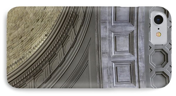 Classical Dome And Vault Details Phone Case by Lynn Palmer