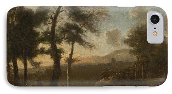 Classical French Landscape IPhone Case by Celestial Images