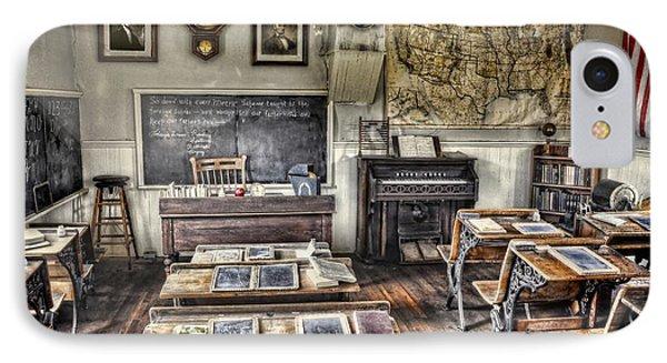 Classroom Recess IPhone Case by Ken Smith