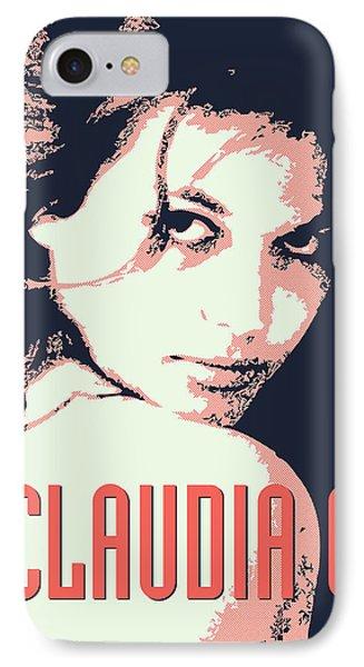 Claudia C IPhone Case by Chungkong Art