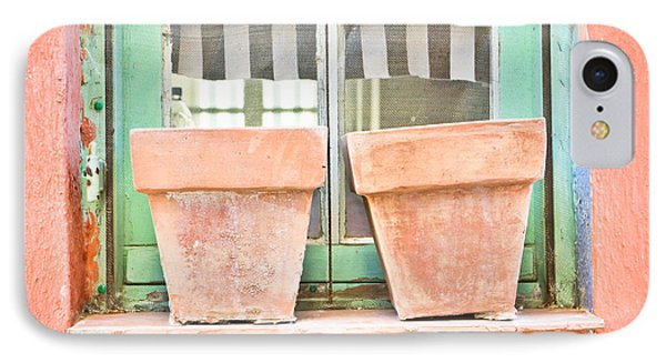 Clay Pots IPhone Case by Tom Gowanlock
