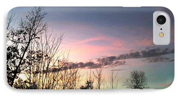 IPhone Case featuring the photograph Clear Evening Sky by Linda Bailey