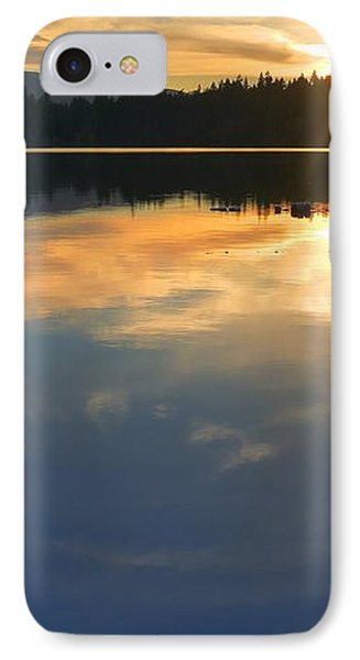 Clear Lake Sunset IPhone Case