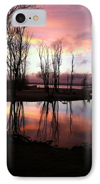 Clearing On The River IPhone Case