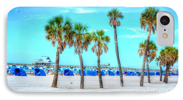 Clearwater Beach Phone Case by Debbi Granruth