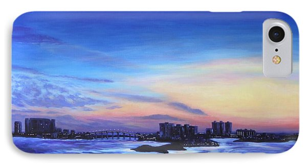 Clearwater Beach Sunset IPhone Case by Penny Birch-Williams
