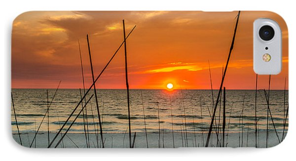 Clearwater Sunset 2 IPhone Case by Mike Ste Marie