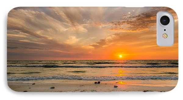Clearwater Sunset IPhone Case by Mike Ste Marie