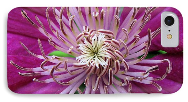 Clematis Heart IPhone Case