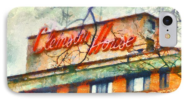 Clemson House IPhone Case