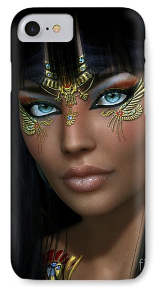 IPhone Case featuring the digital art Cleo H by Shadowlea Is