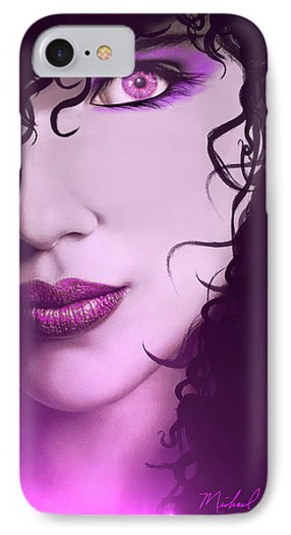 Cleopatra IPhone Case by Michael Rucker
