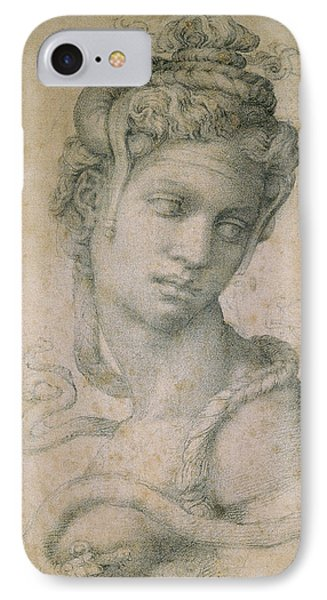 Cleopatra IPhone Case by Michelangelo
