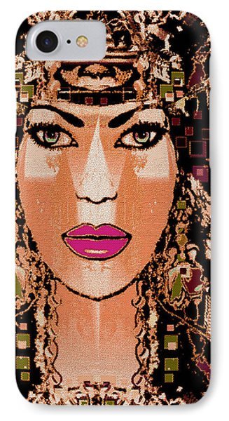 Cleopatra Phone Case by Natalie Holland