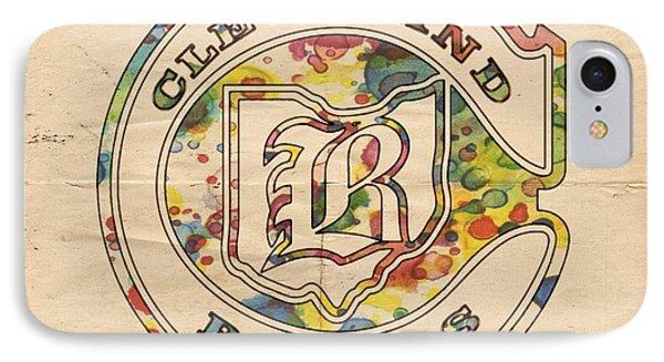 Cleveland Barons Vintage Poster IPhone Case