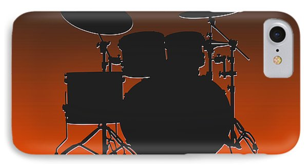 Cleveland Browns Drum Set IPhone Case by Joe Hamilton