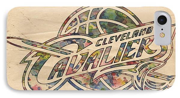 Cleveland Cavaliers Poster Art IPhone Case