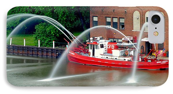 Cleveland Firehouse Phone Case by Frozen in Time Fine Art Photography
