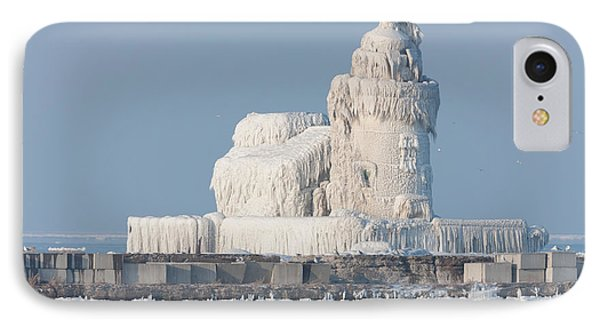 Cleveland Harbor West Pierhead Light IPhone Case