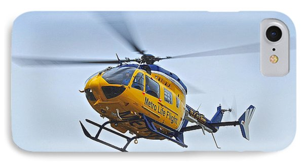 Cleveland Metro Life Flight Phone Case by Frozen in Time Fine Art Photography