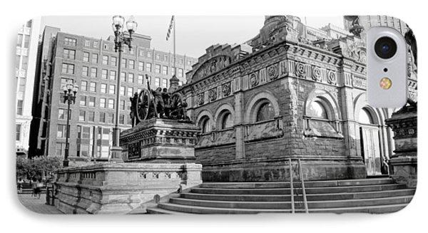 Cleveland Monument IPhone Case