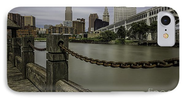 Cleveland Ohio IPhone 7 Case by James Dean