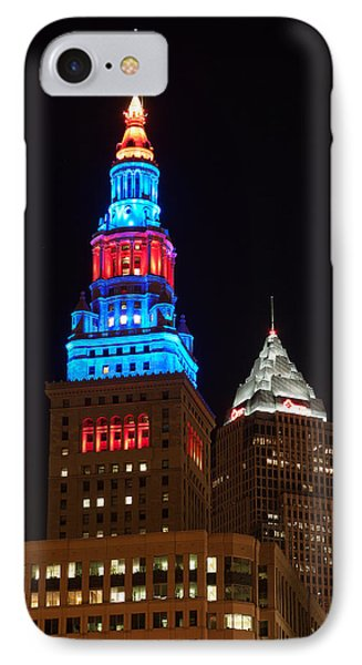 Cleveland Towers IPhone Case by Dale Kincaid