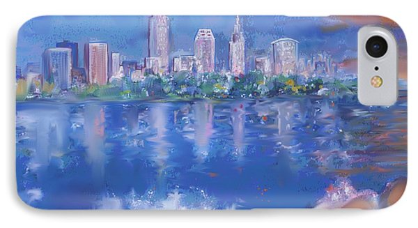 Cleveland View IPhone Case