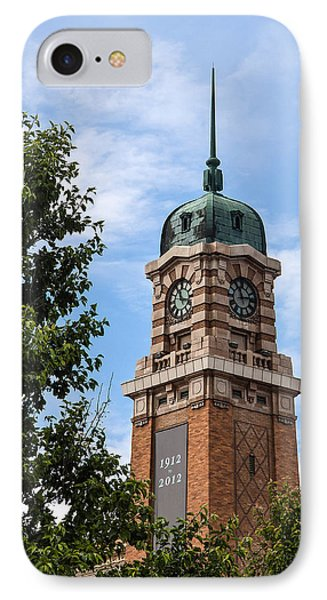 Cleveland West Side Market Tower IPhone Case by Dale Kincaid