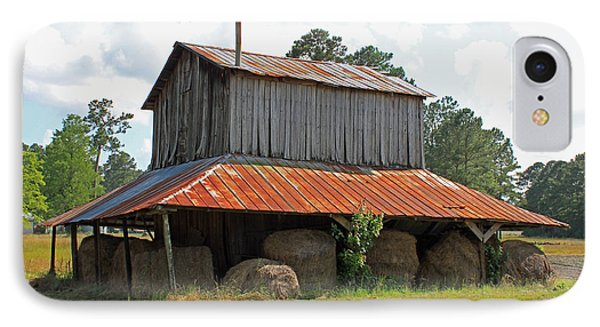 Clewis Family Tobacco Barn IPhone Case