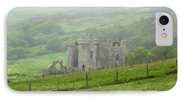Clifden Castle Connemara Ireland IPhone Case by Butch Lombardi