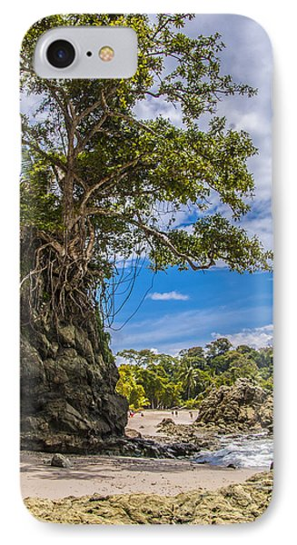 Cliff Diving Tree IPhone Case