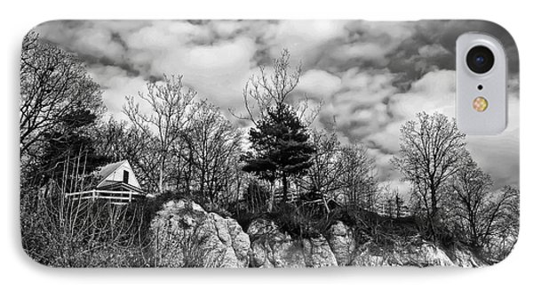 IPhone Case featuring the photograph Cliff House B/w by Greg Jackson